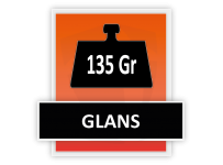 135 grams Glans
