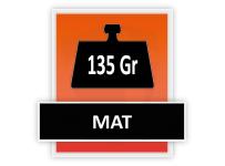 135 grams Mat