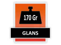 170 grams Glans
