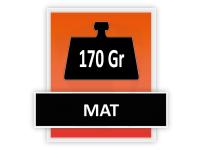 170 grams Mat