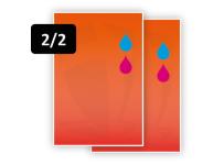 2 PMS Kleuren voor/2 PMS Kleuren achter (2/2)