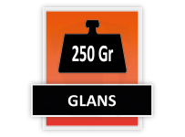 250 grams Glans