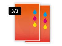 3 PMS Kleuren voor/3 PMS Kleuren achter (3/3)