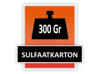300 grams Sulfaatkarton