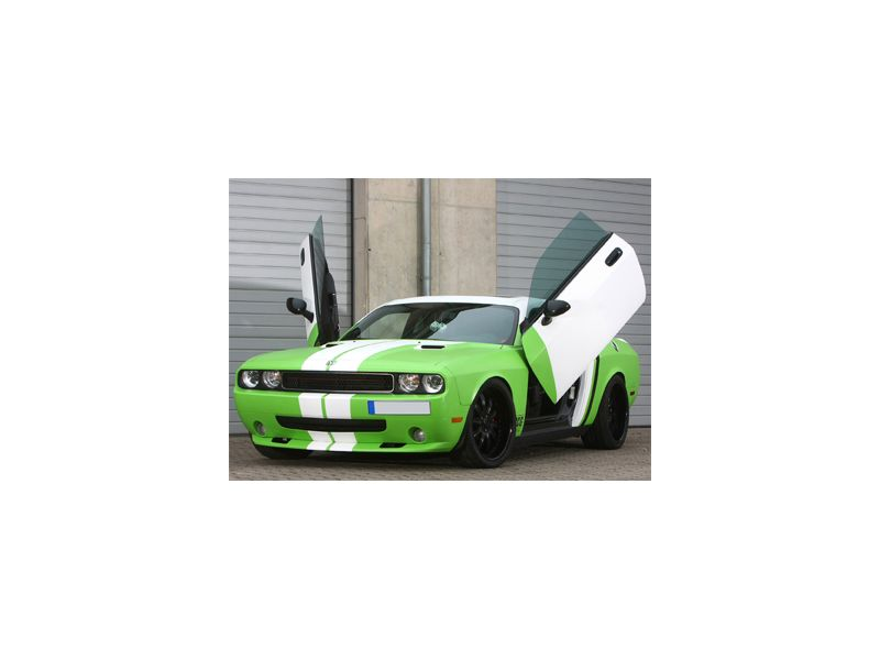 Personenauto striping