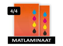 Dubbelzijdig Full Color + Matlaminaat