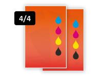 Full Color voor/ Full Color achter (4/4)