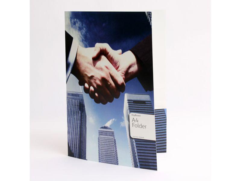 A4 folder Trim & Tape