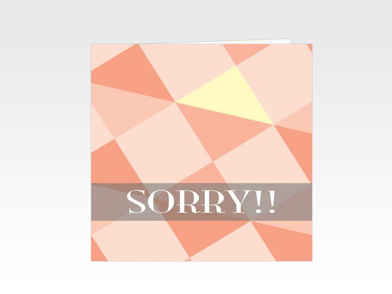 Sorrykaart