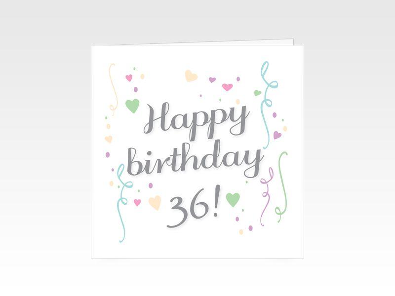 Verjaardagskaart